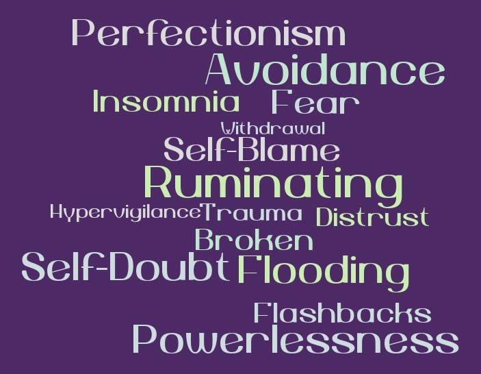 Hypervigilance and Ruminating are Trauma Symptoms